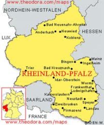Hitler sends troops into Rhineland