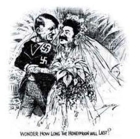 Nazi-Soviet Pact signed