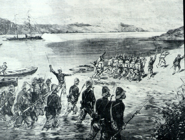 Japanese invade