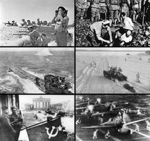 Inició la segunda guerra mundial.