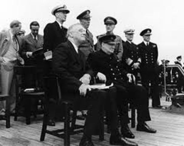 Atlantic Charter is issued