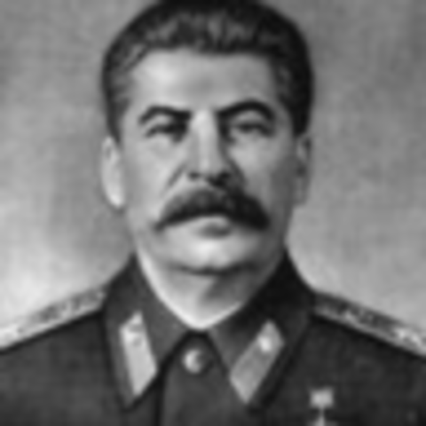 Josev Stalin is the sole dictator of the Soviet Union.