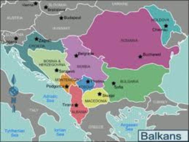 The Balkans and Balkan Nationalism