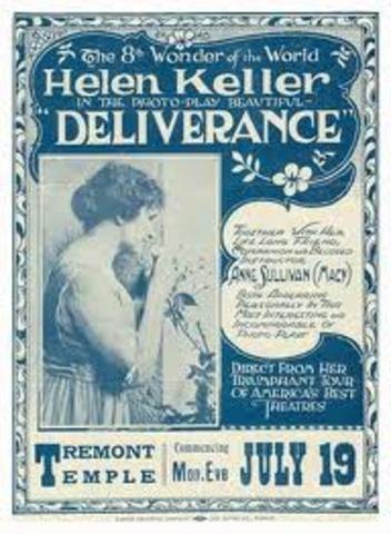 Hellen Acts in a Movie