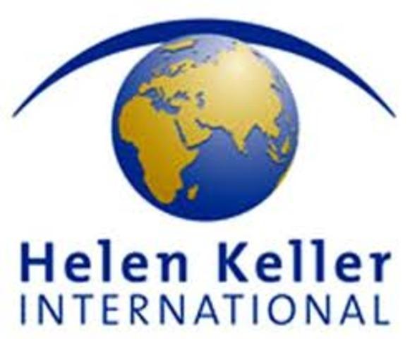 The founding of Helen Keller International