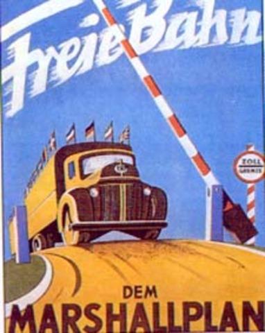 Plan Marshall. Ayuda de EE. UU. a la recuperación de Europa