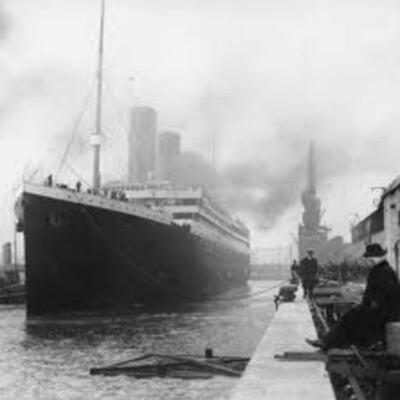 The Titanic  timeline