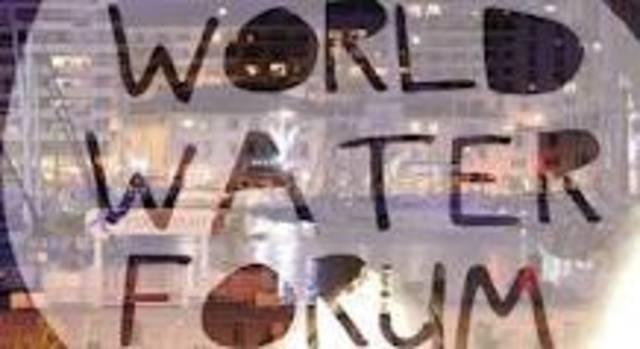 Primer foro mundial del Agua (Marrakech)