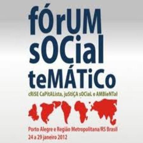 Primer Foro Social Mundial en Porto Alegre