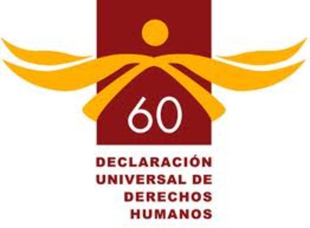 Se celebran los 60 Años de la Declaración Universal de Derechos Humanos