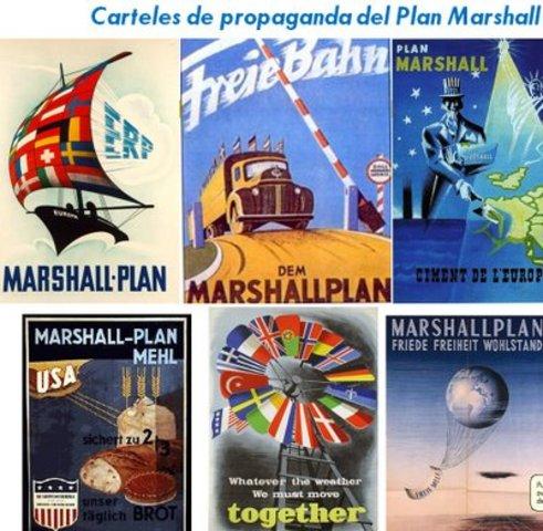 Aplicación del plan Marshall.