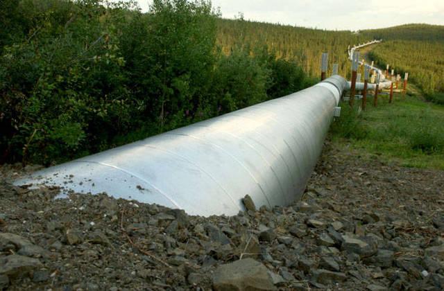 Alaskan Pipeline Finished
