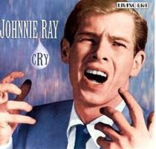 Johnnie Ray becomes a Top star