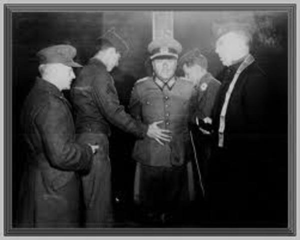 Hitler occupies Hungary