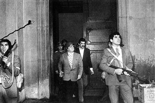 Salvador Allende is killed in Coup