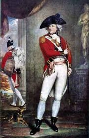 Failed to secure a commission as a British officer