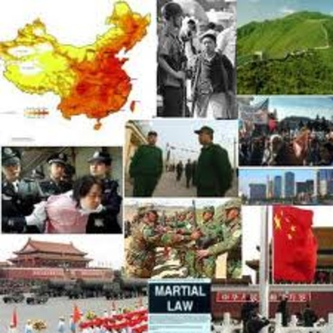 China's Martial Martial Law