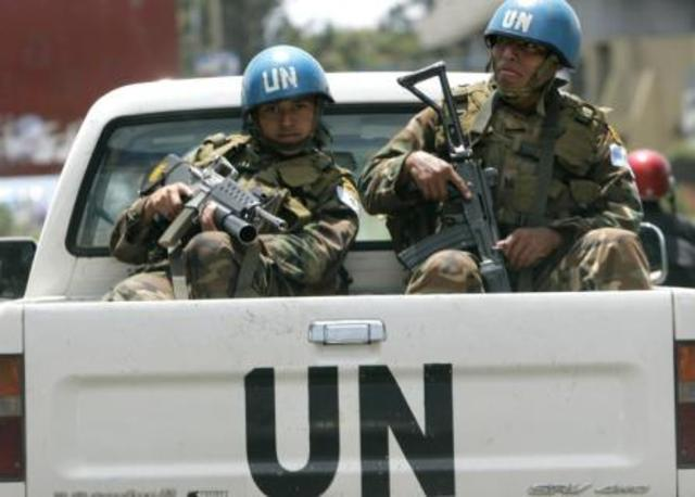 UN peacekeepers sent to 23 countries.