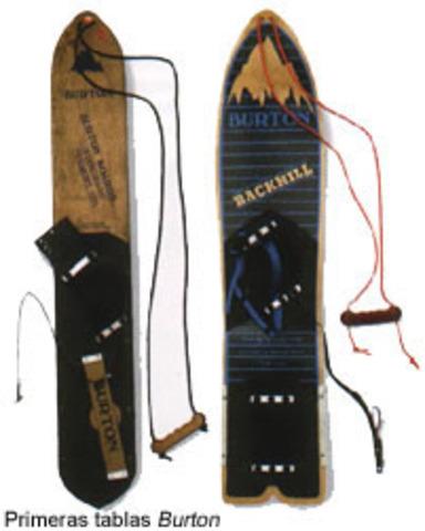 2nd Snowboard Prototype