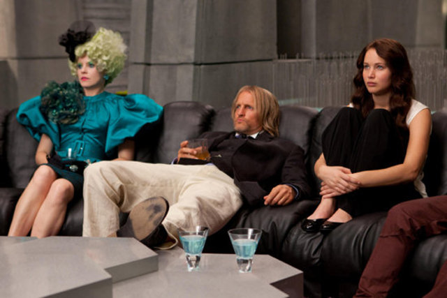 Katniss is watching the replay of the reaping- mb7536