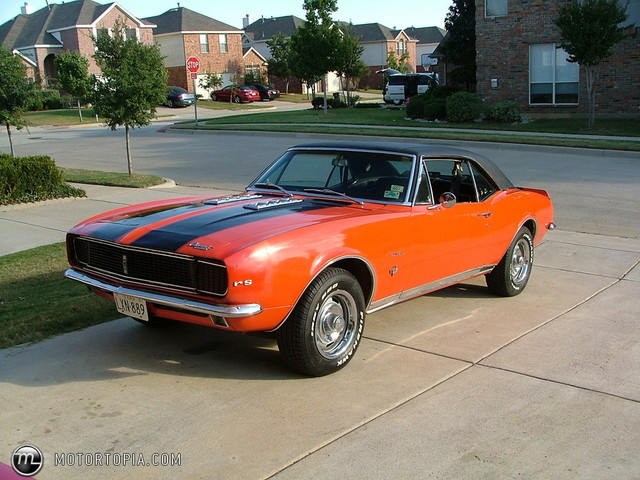 Chevy Camaro in 1967