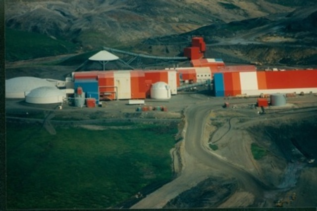 Red Dog Mine Is Opened (Alaska)