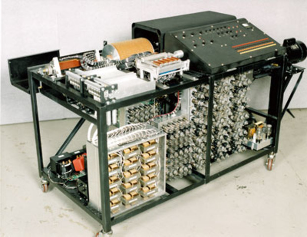 Successful Testing Of The First Electronic Digital Computing Device