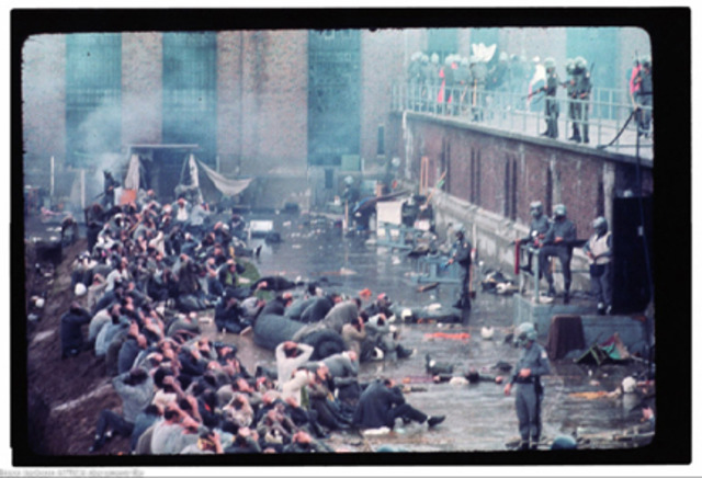 •Attica State Prison Riots