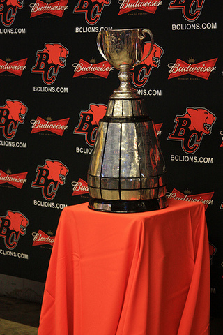 The first Grey Cup game