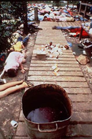 "Jonestown ""Massacre"" Occurs"