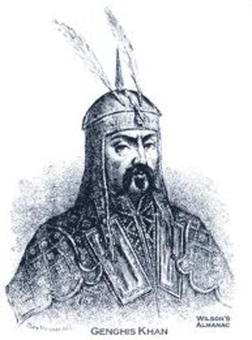 Genghis Khan dies