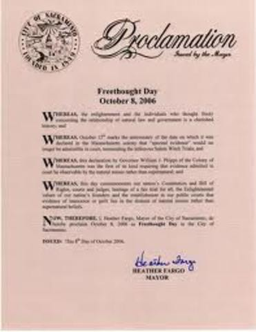 The Neutrality Proclamation