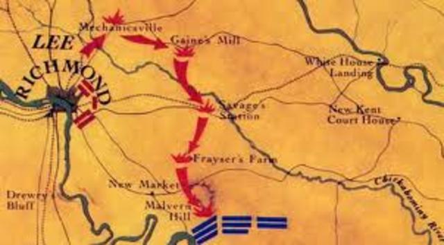 McClellan's Peninsular Campaign
