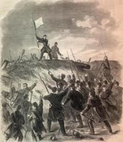 Grant's army captures Fort Henry and Ft. Donelson