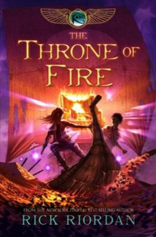 Rick Riordan Finishes Another Book