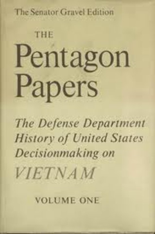 The Pentagon Papers Released
