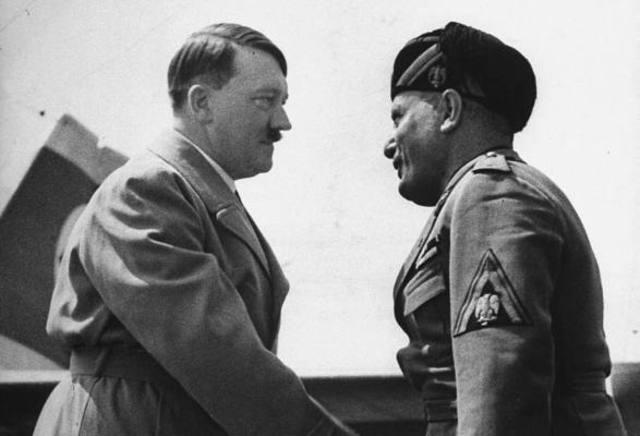 Benito Mussolini visita Berlin por primera vez