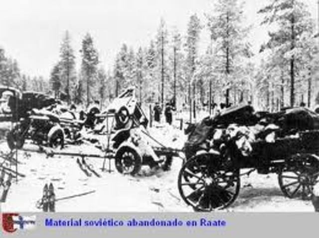 Unión Soviética ataca Finlandia