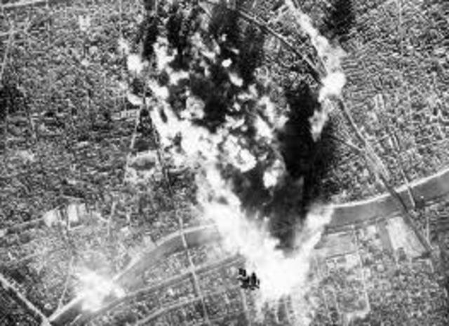 Bombardean Paris