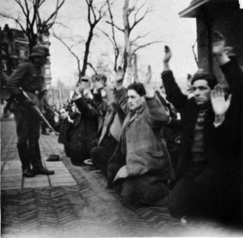 Arresto de judios en Amsterdam