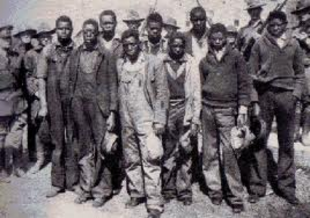 Rosa becomes highly active in defending the Scottsboro Boys