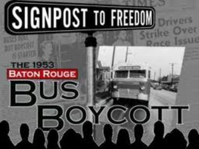 Beginning of Montgomery Bus Boycott