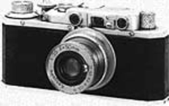 The First Canon Camera was Invented!