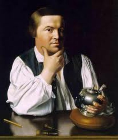 Paul Revere and the First Notes