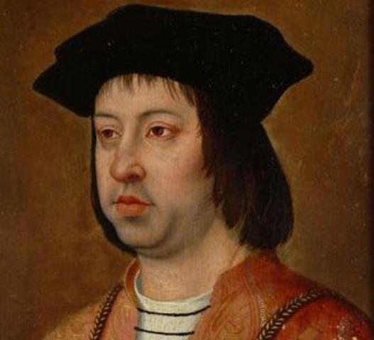 1479 Subida ao trono de Aragão de Fernando, marido de Isabel