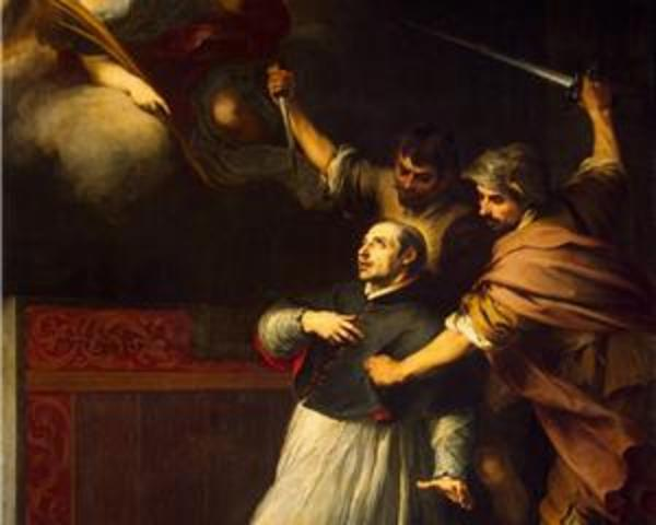setembro de 1485 O Inquisidor Pedro de Arbués é assassinado na catedral La Seo (Saragoça)