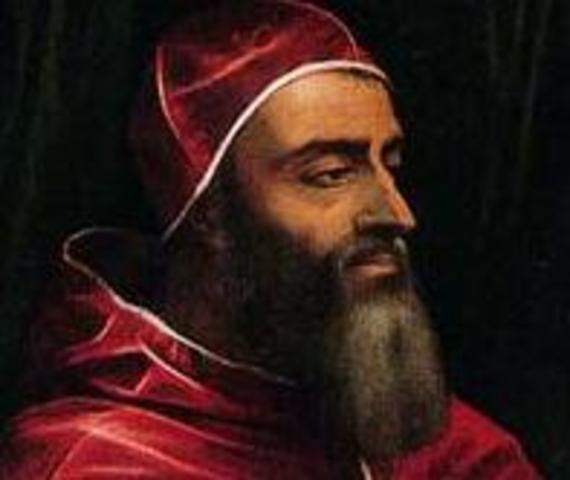1531 O Papa Clemente VII expede a bula Cum ad nihil magis na qual especifica as atribuições do primeiro inquisidor geral - Frei Diogo da Silva, que não veio a aceitar a nomeação.