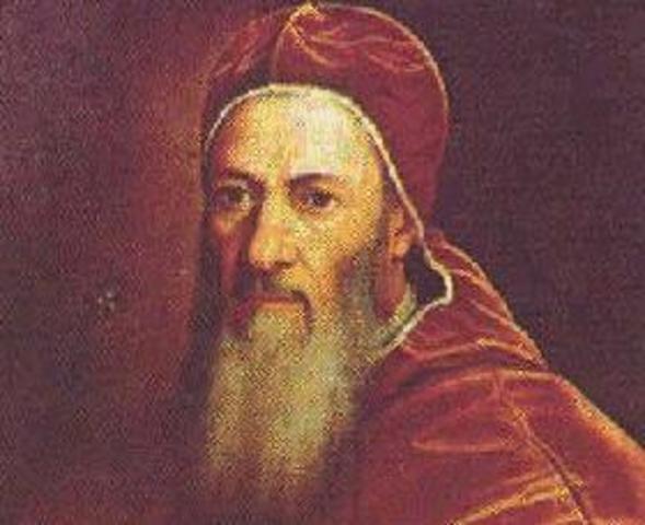23 de maio de 1536 O Papa Júlio III envia uma nova bula Cum ad nihil magis, sendo o teor da mesma muito semelhante ao da bula de 1531.