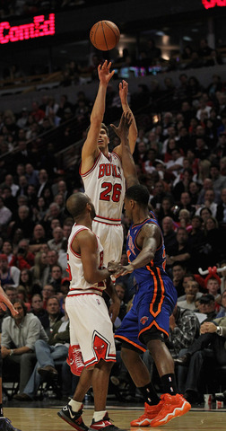 currently plays for the Chicago Bulls of the National Basketball Association. He plays as a shooting guard/small forward.