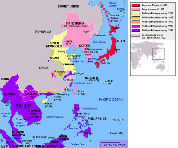 Japon manda el oriente